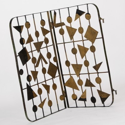 Window Decorative Lattice art from the fifties by unknown designer for unknown producer