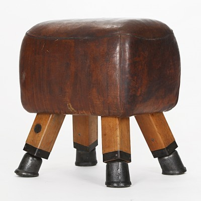 Gym stool or Turnbock from the twenties by unknown designer for unknown producer