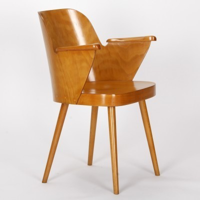 Arm chair by Oswald Haerdtl for Ton N. P. Bystřice pod Hostýnem, 1950s