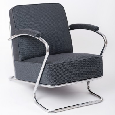 Set of 2 arm chairs from the thirties by unknown designer for unknown producer