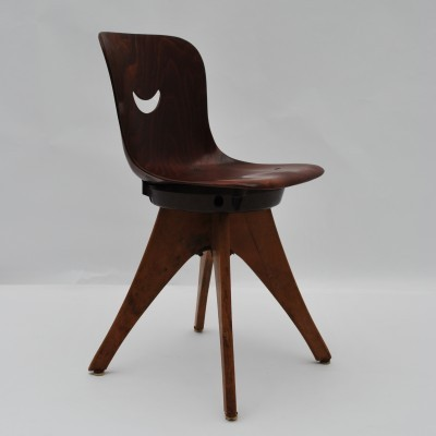 Friedrichshof West Schulmobel Children's chair, 1950s