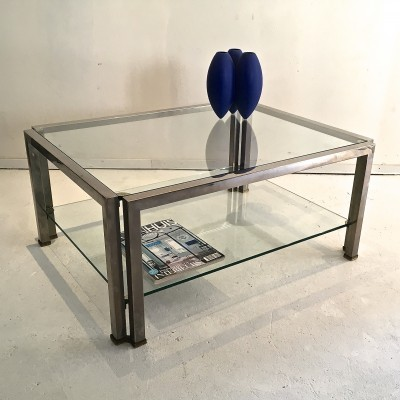 Coffee table from the seventies by Peter Ghyczy for unknown producer