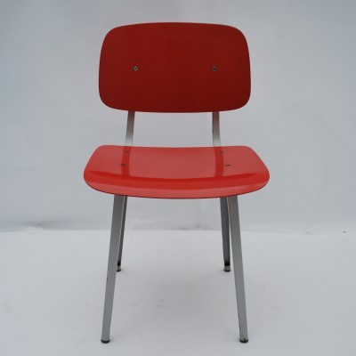 Revolt dinner chair from the fifties by Friso Kramer for Ahrend de Cirkel