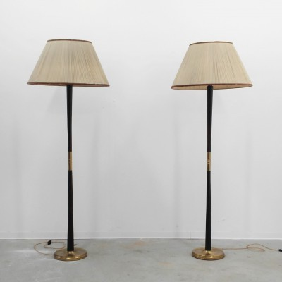 2 floor lamps from the thirties by Paolo Buffa for unknown producer