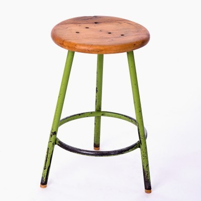 Stool from the forties by unknown designer for unknown producer