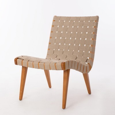 Set of 2 lounge chairs from the fifties by Jens Risom for Knoll