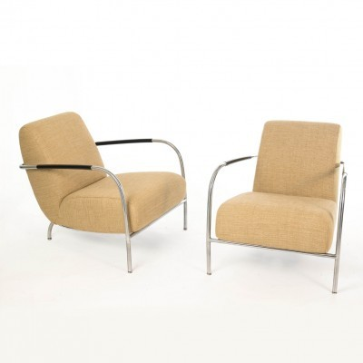 Pair of Harvink arm chairs, 1990s