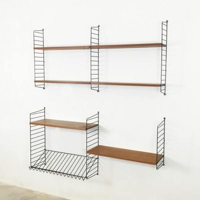 Wall unit from the sixties by Nisse Strinning for String Design AB