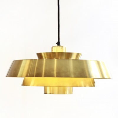 Nova hanging lamp from the fifties by Jo Hammerborg for Fog & Mørup