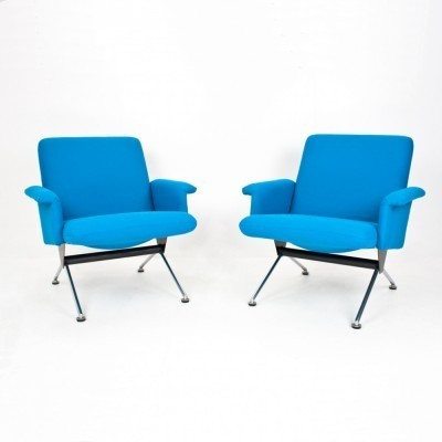 Set of 2 model 1432 lounge chairs from the sixties by André Cordemeyer for Gispen