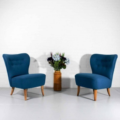 Set of 2 lounge chairs from the fifties by Theo Ruth for Artifort