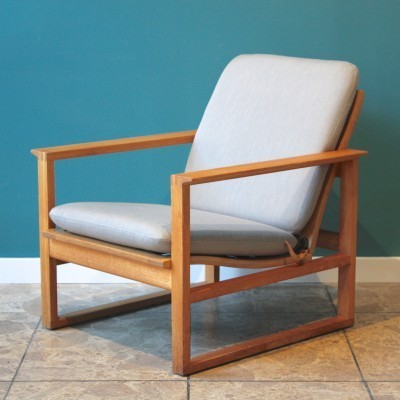Model 2256 lounge chair by Børge Mogensen for Fredericia Stolefabrik, 1950s