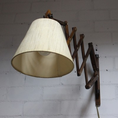 Scissor wall lamp from the fifties by unknown designer for unknown producer