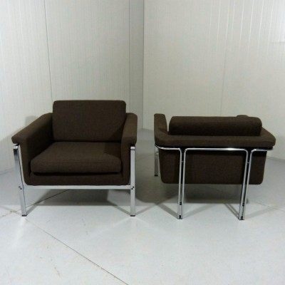 Pair of Model 6911 lounge chairs by Horst Brüning for Kill International, 1960s
