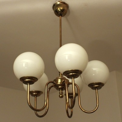 Hanging lamp from the eighties by unknown designer for unknown producer