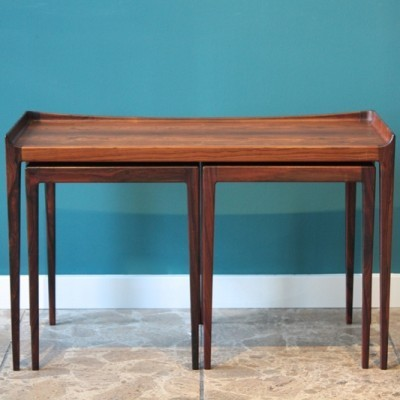 Nesting table from the fifties by Kurt Ostervig for Jason Möbler