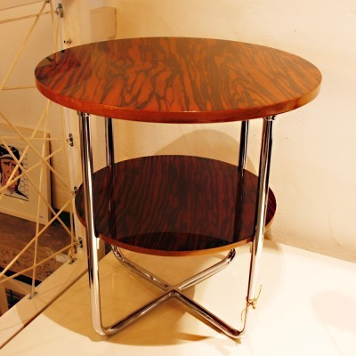Coffee table from the thirties by unknown designer for unknown producer