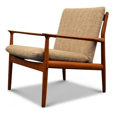 Lounge chair by Grete Jalk for Glostrup Møbelfabrik, 1950s