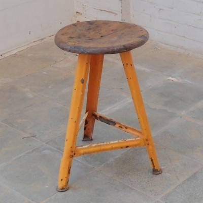 Stool from the forties by unknown designer for Bartos