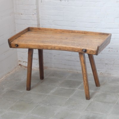 Butcher Table writing desk from the forties by unknown designer for unknown producer