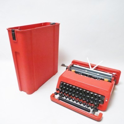 Valentine Writing Machine by Ettore Sottsass for Olivetti