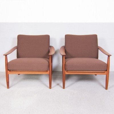 Lounge chair from the fifties by Walter Knoll for Knoll