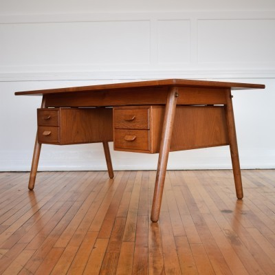 Writing desk by Poul Volther for FDB Møbler, 1950s