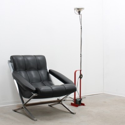 Toio floor lamp from the seventies by Achille Giacomo Castiglioni for Flos