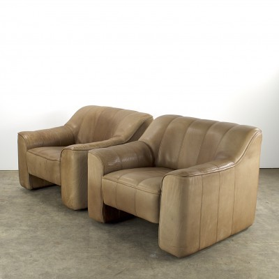 2 DS-44 lounge chairs from the sixties by unknown designer for De Sede