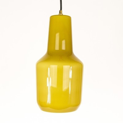 Amber pendant by Massimo Vignelli for Venini
