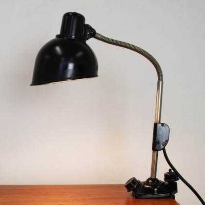 Desk lamp from the forties by unknown designer for Helion Arnstadt