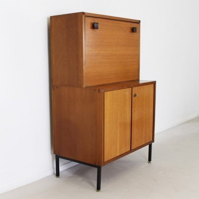 Mørkaste series secretaire cabinet from the sixties by unknown designer for Topform