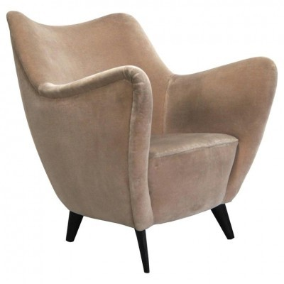 Perla arm chair from the fifties by Giulia Veronesi for ISA