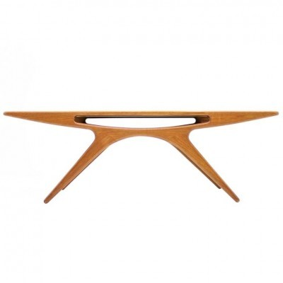 206A Smily coffee table from the fifties by Johannes Andersen for CFC Silkeborg