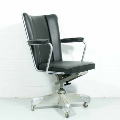 President 357 office chair from the fifties by Christoffel Hoffmann for Gispen