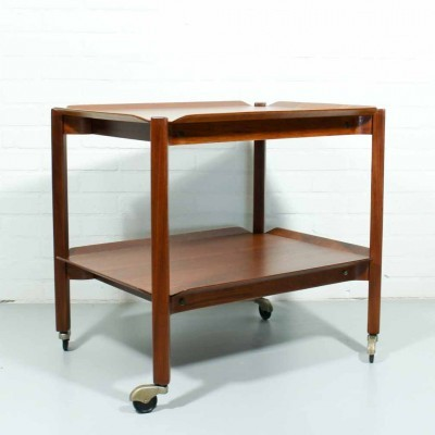 Tb10 serving trolley from the fifties by Cees Braakman for Pastoe