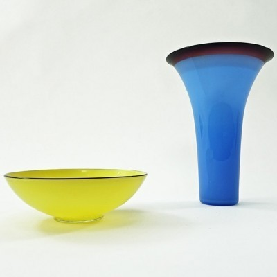 2 x vase by Philip Baldwin & Monica Guggisberg for Nonfoux, 1990s