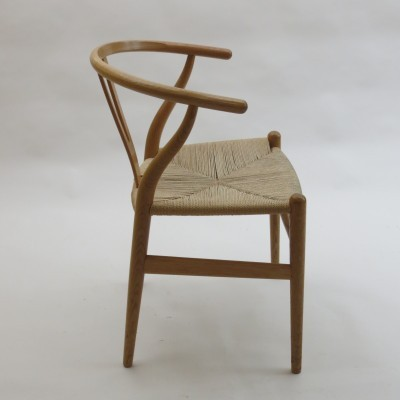 4 Wishbone dinner chairs from the fifties by Hans Wegner for Carl Hansen