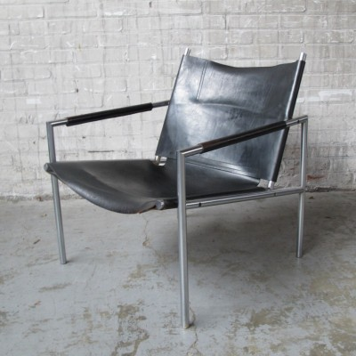 SZ02 lounge chair from the fifties by Martin Visser for Spectrum