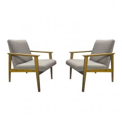 Set of 2 arm chairs from the sixties by unknown designer for Interier Praha