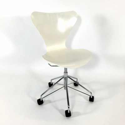 Butterfly Series 7 Swivel office chair from the fifties by Arne Jacobsen for Fritz Hansen