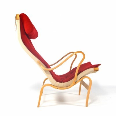 Pernilla 69 lounge chair by Bruno Mathsson for Dux, 1950s