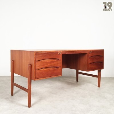 Writing desk from the fifties by Johannes Aasbjerg for Johannes Aasbjerg