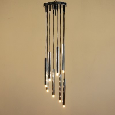 Hanging lamp from the sixties by unknown designer for Sciolari