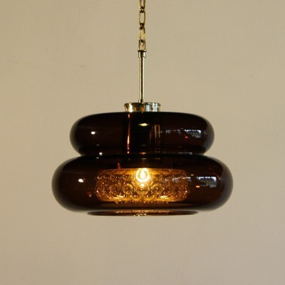 3 hanging lamps from the sixties by Carl Fagerlund for Orrefors