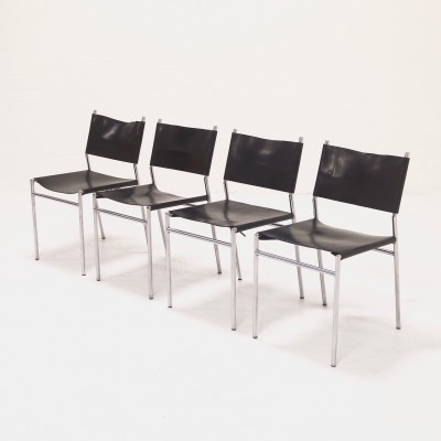 Set of 4 SZ06 dinner chairs from the sixties by Martin Visser for Spectrum