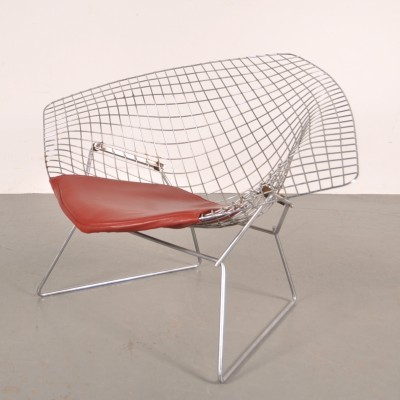 Diamond lounge chair from the sixties by Harry Bertoia for Knoll