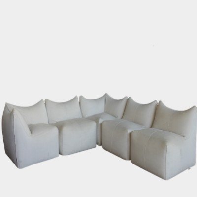Set of 5 Le Bambole sofas from the seventies by Mario Bellini for BB