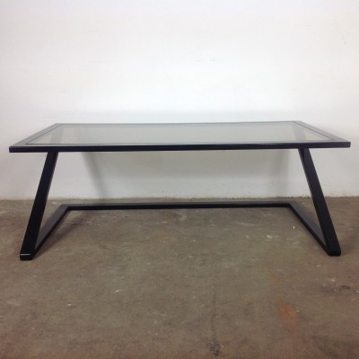 Z coffee table from the eighties by unknown designer for Harvink