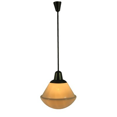 Hanging lamp from the thirties by unknown designer for Gispen